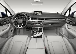 Audi Q7 wins for best premium interior design