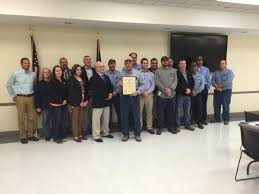 Kentucky Labor Cabinet Secretary by Pennyrile Electric Presented Governor U0027s Safety And Health Award