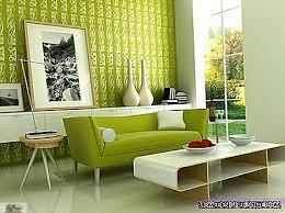 grünes wohnzimmer grüne möbel raum design 2021