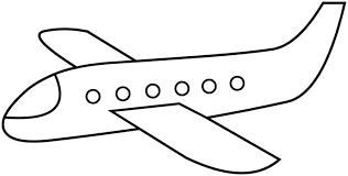 Airplane Coloring Page Printable Pages Getcoloringpages