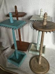 Cool Wooden Jewelry Stand Tree Display Necklace Neckla OrganizationJewlery Organizer IdeasDiy
