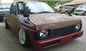 100 Nissan Mini Truck _D21 Pickup SingleCab Modified Lowered Slammed