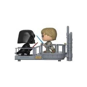 Funko Pop Cloud City Duel Star Wars Vinyl Figure - Darth Vader and Luke Movie Moments Pop, 2pk
