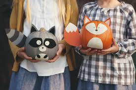 Minion Carved Pumpkins by Woodland Creature No Carve Pumpkins Woodland Creatures Holidays