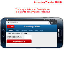 How To Access PTBooth Transfer App Admin on your Smartphone