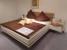 concept me 500 200 schlafzimmer weiß eiche riviera nachbildung kleiderschrank bettanlage nolte germersheim