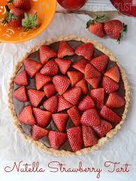 Nutella Strawberry Tart18 1ws Mini Samoa Pies