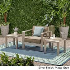 Christopher Knight Home Cape Coral Outdoor Aluminum Side Table (Set Of 2) Alinum Alloy Outdoor Portable Camping Pnic Bbq Folding Table Chair Stool Set Cast Cats002 Rectangular Temper Glass Buy Tableoutdoor Tablealinum Product On Alibacom 235 Square Metal With 2 Black Slat Stack Chairs Table Set From Chairs Carousell Best Choice Products Patio Bistro W Attached Ice Bucket Copper Finish Chelsea Oval Ding Of 7 Details About Largo 5 Piece Us 3544 35 Offoutdoor Foldable Fishing 4 Glenn Teak Wood Extendable And Bk418 420 Cafe And Restaurant Chairrestaurant