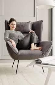 evy hochlehner sessel samt lounge sessel wohnzimmer