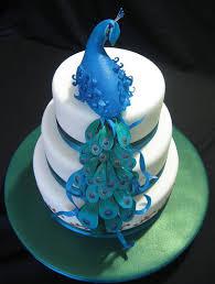 Peacock Wedding Cakes Best of Cake