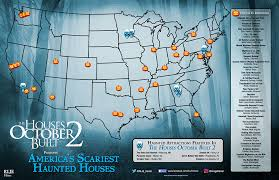 Best Halloween Attractions In Nj by America U0027s Scariest Haunted Houses Presented By The Houses October