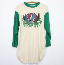 Dead Kennedys Halloween Shirt by Grateful Dead Marijuana Shirt 1970s Wyco Vintage