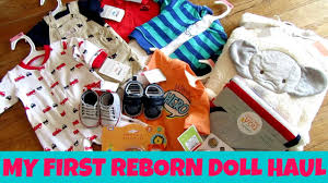 my first reborn doll shopping haul doll clothes clearance items