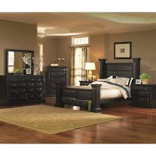 Torreon Black 6 Piece King Bedroom Set