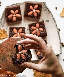 low carb brownies mit mandelmehl