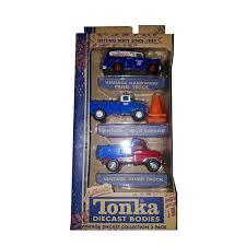 Amazon.com: Tonka 1:55 Scale Diecast Vintage Trucks 3 Pack ...