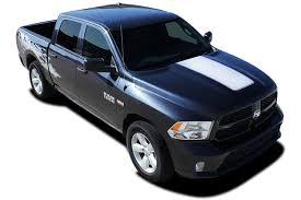 100 Ram Truck Decals 20092018 Dodge RAM HOOD Solid Center Hood Vinyl