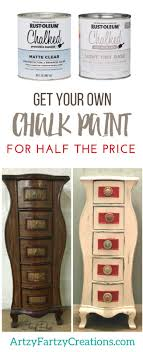Chalk Paint For Half Price