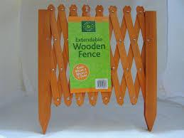 Decorative Garden Fence Border by 1 Extendable Garden Lawn Edging Wood Wooden Trellis Fence Border