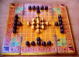 Hnefatafl Is An Ancient Board Game Dating Back At Least To The Dark Ages And With Roots In Earlier Greek Roman Games It Was Played Widely Across
