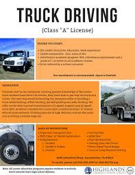 100 Truck Driving School Sacramento Career Technical Education Highlands Community Charter