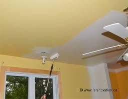 comment peindre un plafond crepi 2 pour bien appliquer la