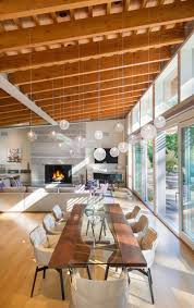 100 Beams In Ceiling Moderndiningareadouglasfirbeamsceiling05 CONTEMPORIST
