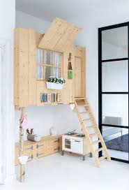 Marvellous Loft Bed With Closet Underneath Enchanting Bedroom