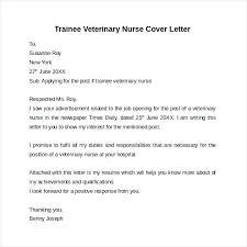 Sample Veterinary Cover Letter Ideas Collection Vet Cover Letter