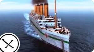 the sinking of the britannic youtube