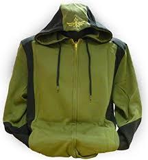 nintendo legend of zelda mens hoodie zelda back design green