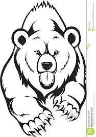 Drawn Grizzly Bear Cali 2446503