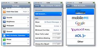 iphone How to sync Gmail contacts keeping exchange contacts