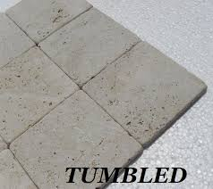 travertine tumbled versus brushed patinato travertine