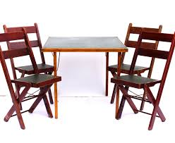 Stakmore Folding Chair Vintage by Folding Card Tables And Chairs Attractive Folding Card Table And