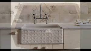 Rohl Fireclay Sink Cleaning by Apron Front Farmhouse Kitchen Sinks Youtube
