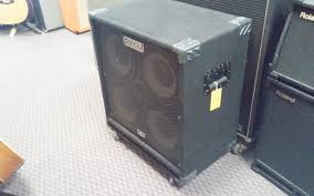 Fender Bassman Cabinet 1x15 used bass speaker cabinets page 1 music go round greensboro