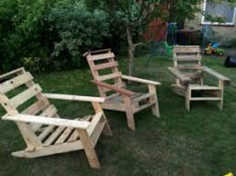 Pallet Adirondack Chair Plans by Pallet Wood And Cable Spool Chair Pallet Furniture Plans