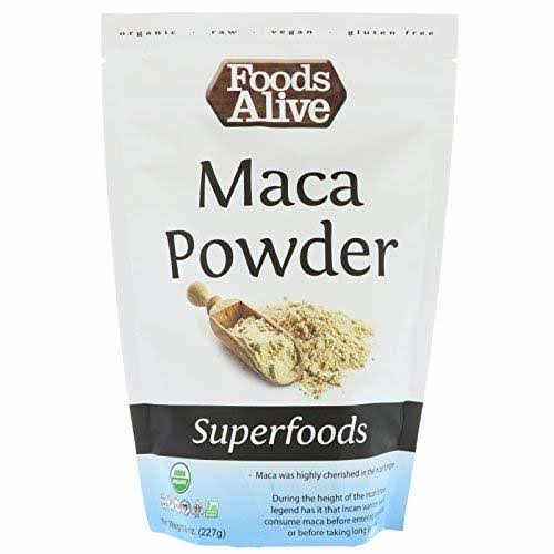 Foods Alive Organic Raw Maca Powder - 8oz