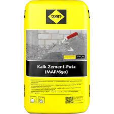 sakret kalk zement putz map 650 25 kg