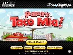 jeux de cuisine papa s papa s taco un des jeux en ligne gratuit sur jeux jeu fr