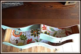 Tiger Oak Serpentine Dresser by Createinspire Antique Serpentine Dresser