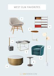 great new picks from west elm cavdesign