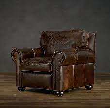 Pottery Barn Leather Chair Leather Lounge Chairs Recliners R