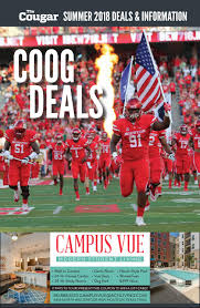 Coog Deals Summer 2018 By UH Center For Student Media - Issuu