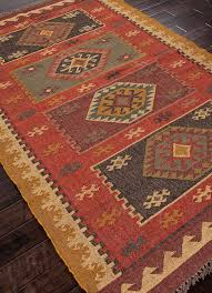 The Jaipur Bedouin Amman Flat Weave Southwestern Area Rug Is Perfect Addition To Your Desert Home Muted Terracotta Coloring Will Bring Decor