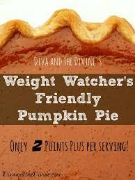 Splenda Easy Pumpkin Pie by Weight Watchers Pumpkin Pie