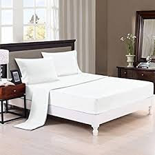 Jennifer Convertibles Sofa Bed Sheets by Amazon Com Twin Sleeper Sofa Bed Sheet Set White 200 Thread Count