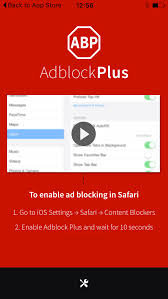 Adblock Plus and a little more Adblock Plus for iOS is finally