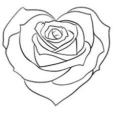 Lovely Design Ideas Rose Coloring Pages Roses
